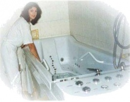 Medical Bathhouse PRAHA &#xE2;&#x80;&#x93; a massage bathtub